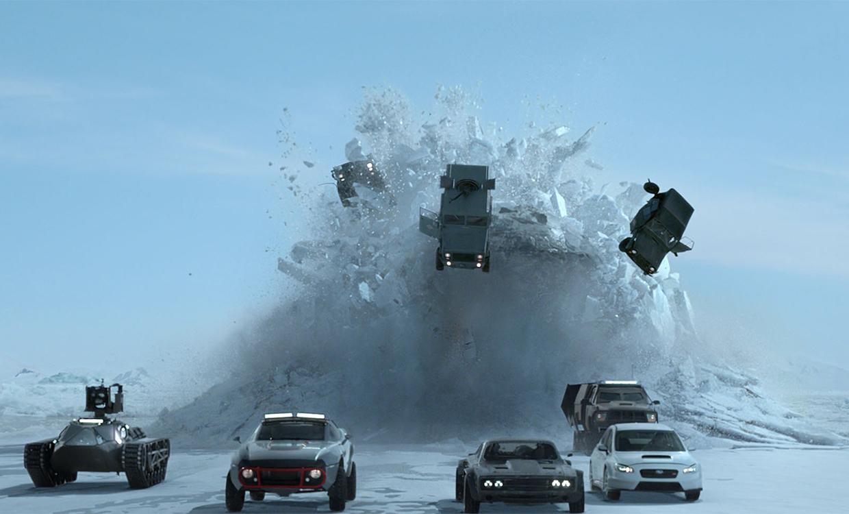 Úr myndinni Fast & Furious 8.